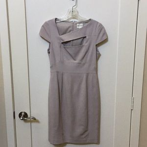 Reiss Lavender Cutout Dress US 6